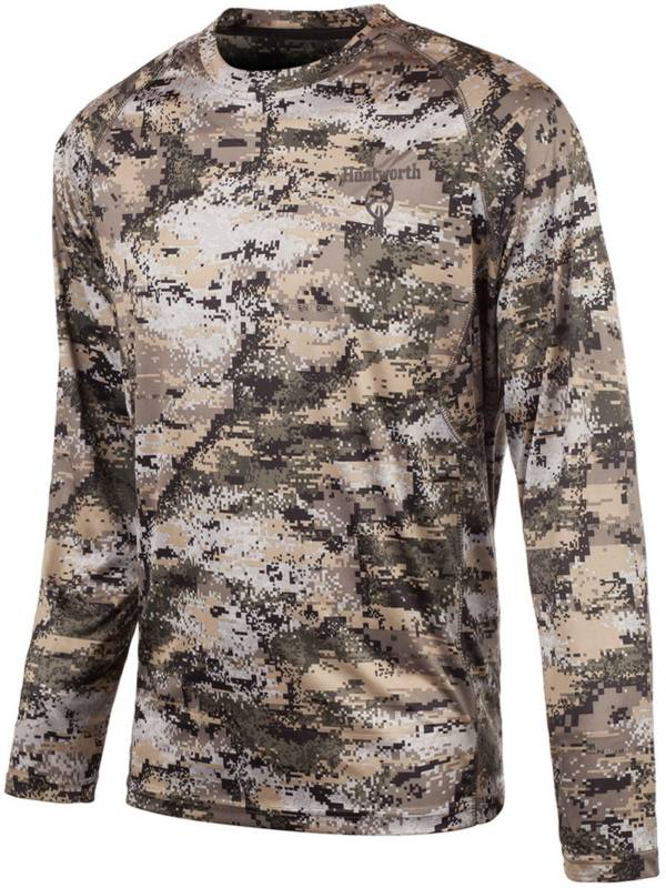 Huntworth Men's Lightweight Long Sleeve Camo Shirt product image