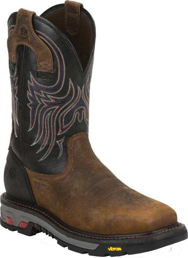 Justin Men's Commander X-5 Steel Toe Western Work Boots product image