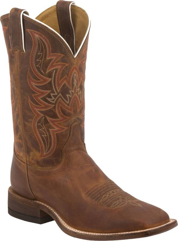 Justin Men's Distressed Cognac Bent Rail Western Boots product image