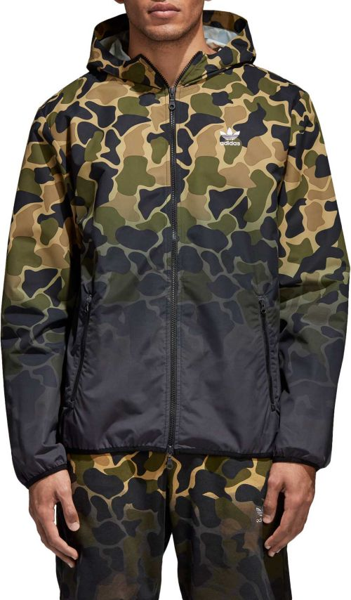 72f6b94425e7 adidas Originals Men s Camo Windbreaker Jacket. noImageFound. Previous