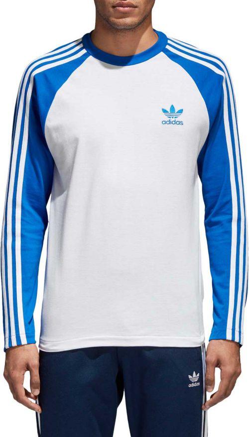 26e7bd454 adidas Originals Men s 3-Stripe Long Sleeve T-Shirt. noImageFound. Previous
