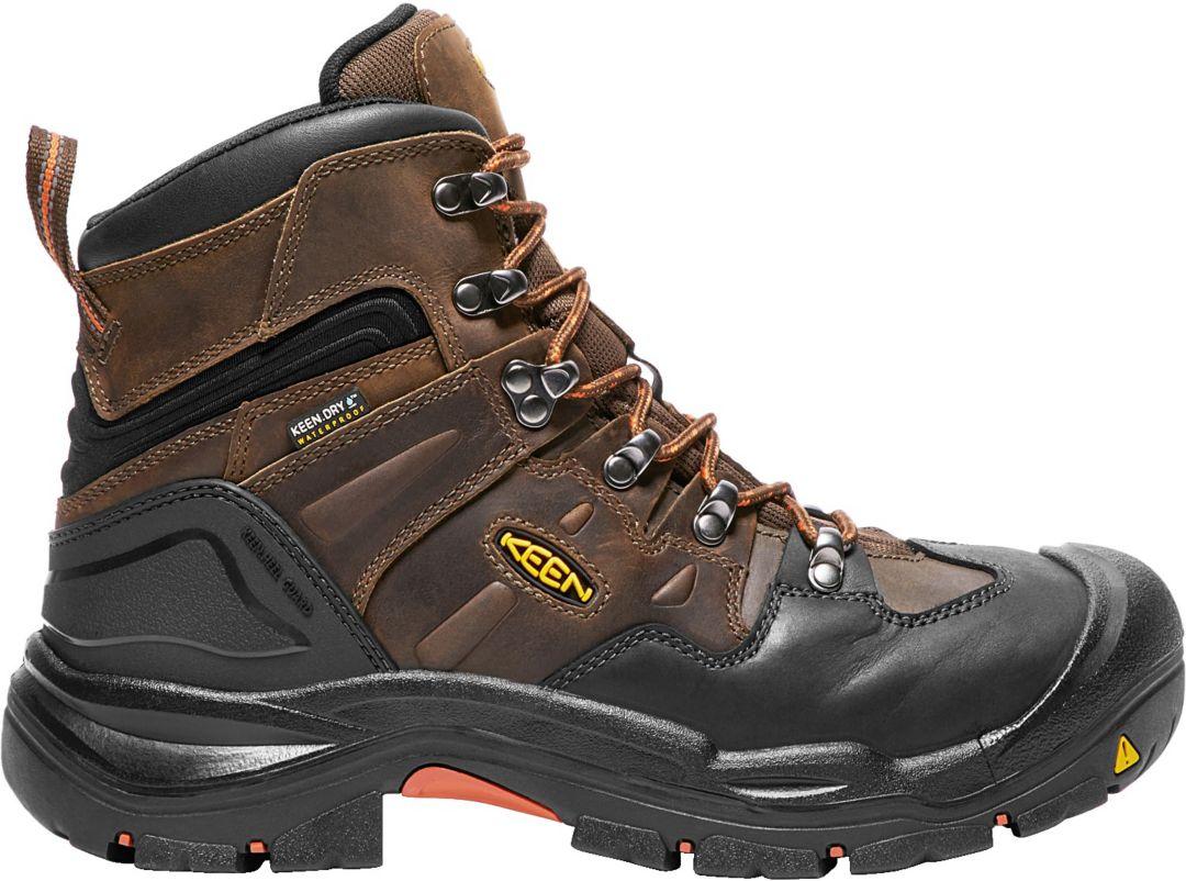 9a97c789170 KEEN Men's Coburg 6'' Waterproof Steel Toe Work Boots