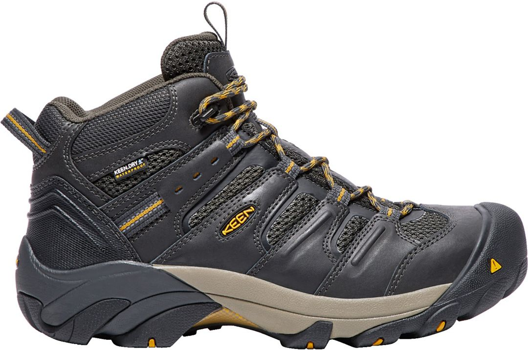 47246838da3e7 KEEN Men's Lansing Mid Waterproof Steel Toe Work Boots | DICK'S Sporting  Goods