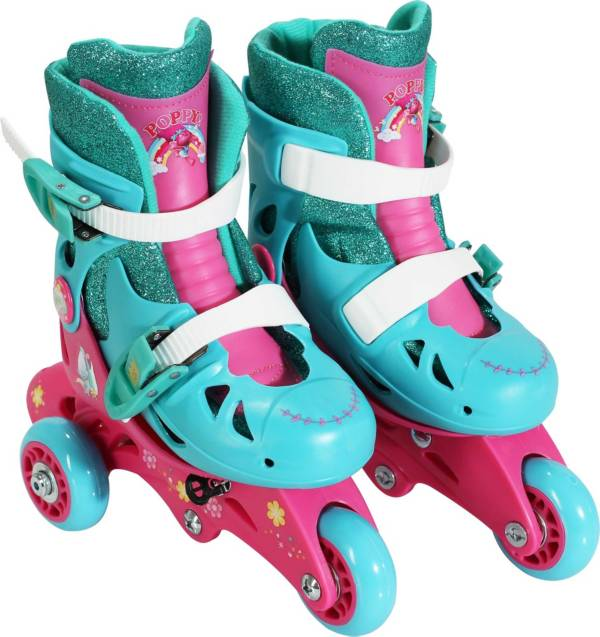 DreamWorks Trolls Girls' 2-in-1 Inline Skates product image