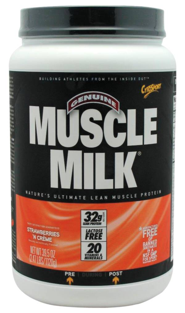 Cytosport Muscle Milk Strawberry 'n Creme Protein Powder 2.47 lbs product image
