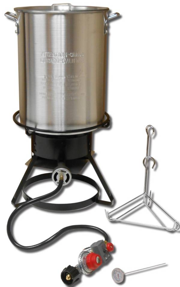 King Kooker 29-Quart Aluminum Turkey Fryer Package product image