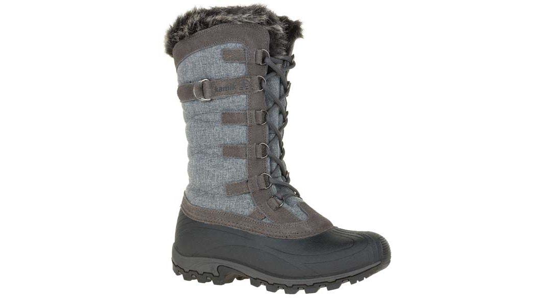 44e3ecb18c1 Kamik Women's Snowvalley Waterproof Insulated Winter Boots