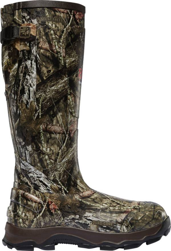 LaCrosse Men's 4XBurly 800g Mossy Oak Rubber Hunting Boots product image