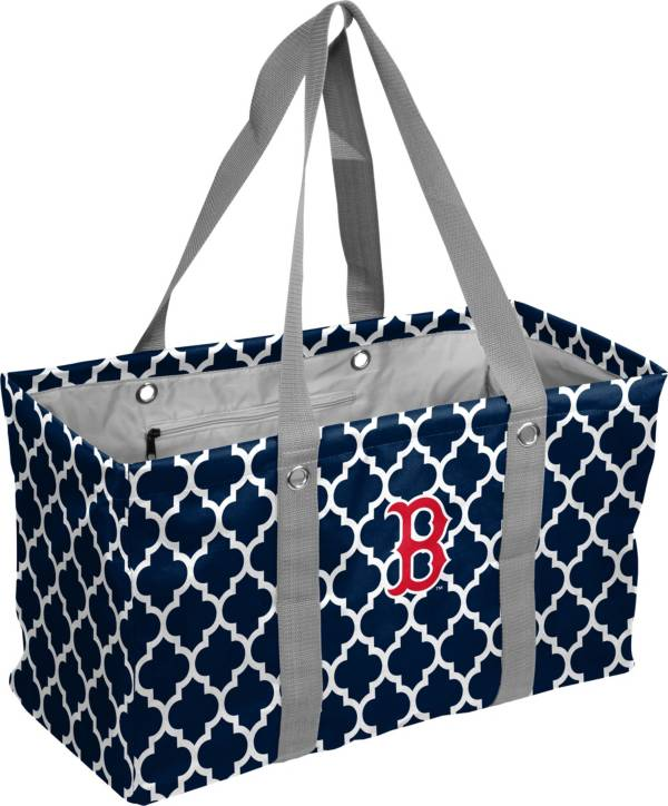 Boston Red Sox Quatrefoil Picnic Caddy product image