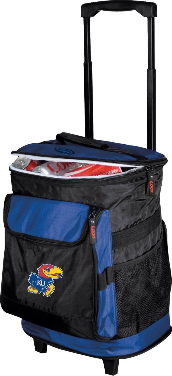 Kansas Jayhawks Rolling Cooler product image