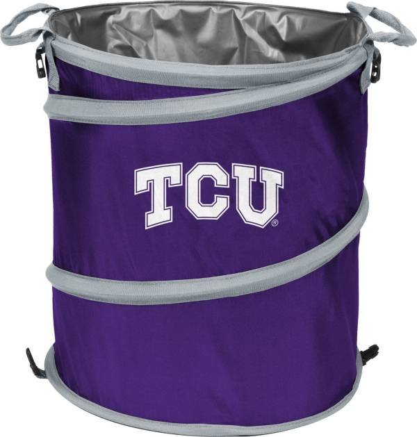 TCU Horned Frogs Trash Can Cooler product image
