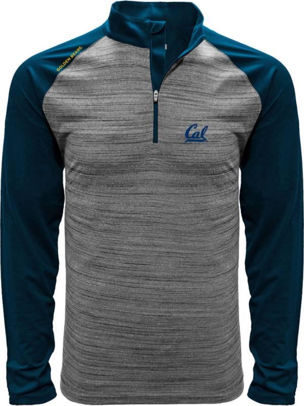 Levelwear Men's Cal Golden Bears Grey Vandal Quarter-Zip Shirt product image