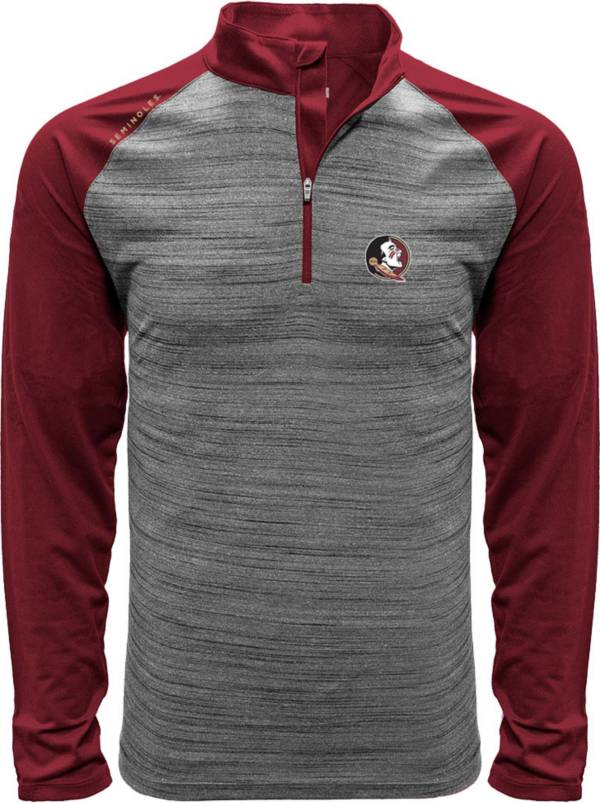 Levelwear Men's Florida State Seminoles Grey Vandal Quarter-Zip Shirt product image