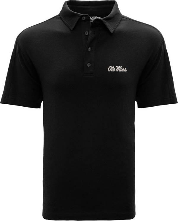 Levelwear Men's Ole Miss Rebels Black Reign Polo product image