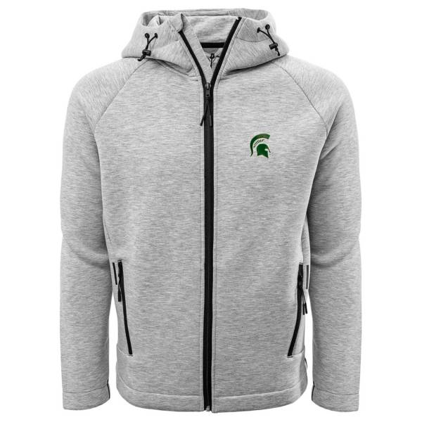 Levelwear Men's Michigan State Spartans Grey Titan Full-Zip Jacket product image