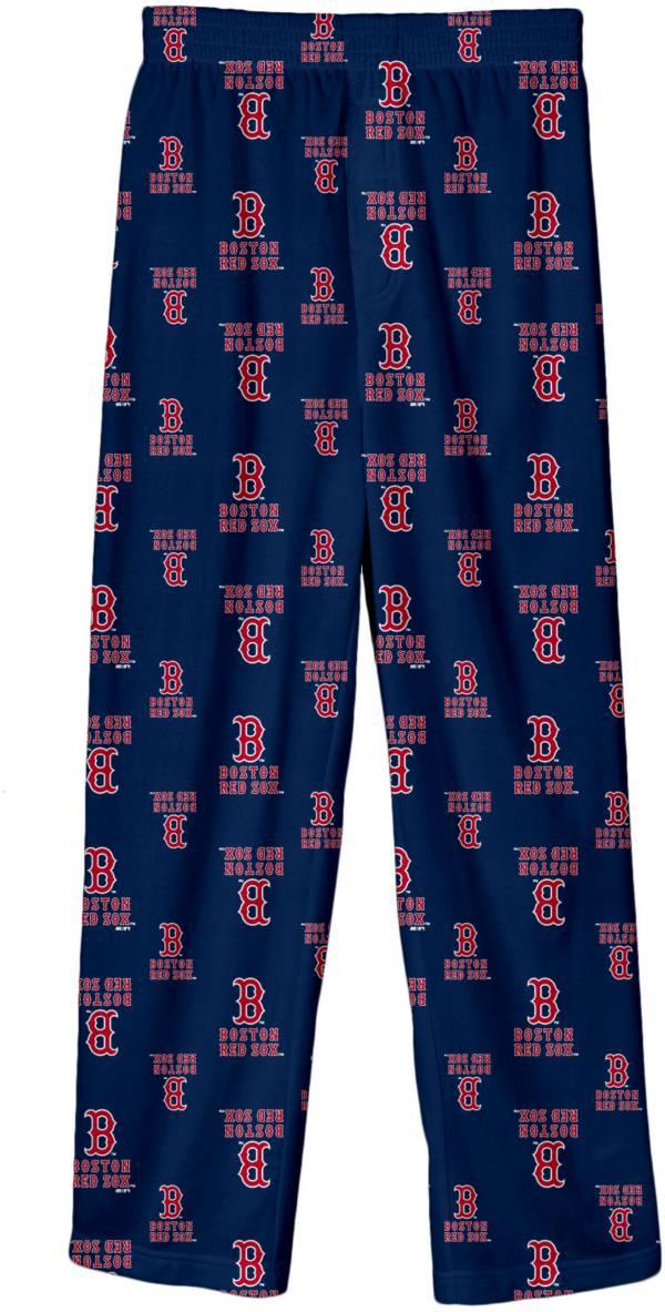 Majestic Youth Boston Red Sox Team Logo Pajama Pants product image
