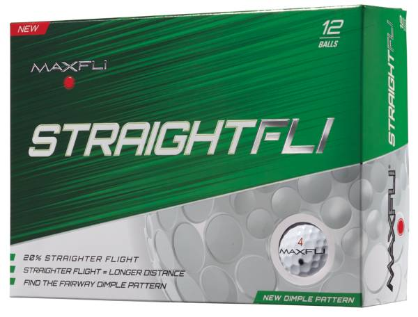 Maxfli StraightFli Golf Balls - 12 Pack product image