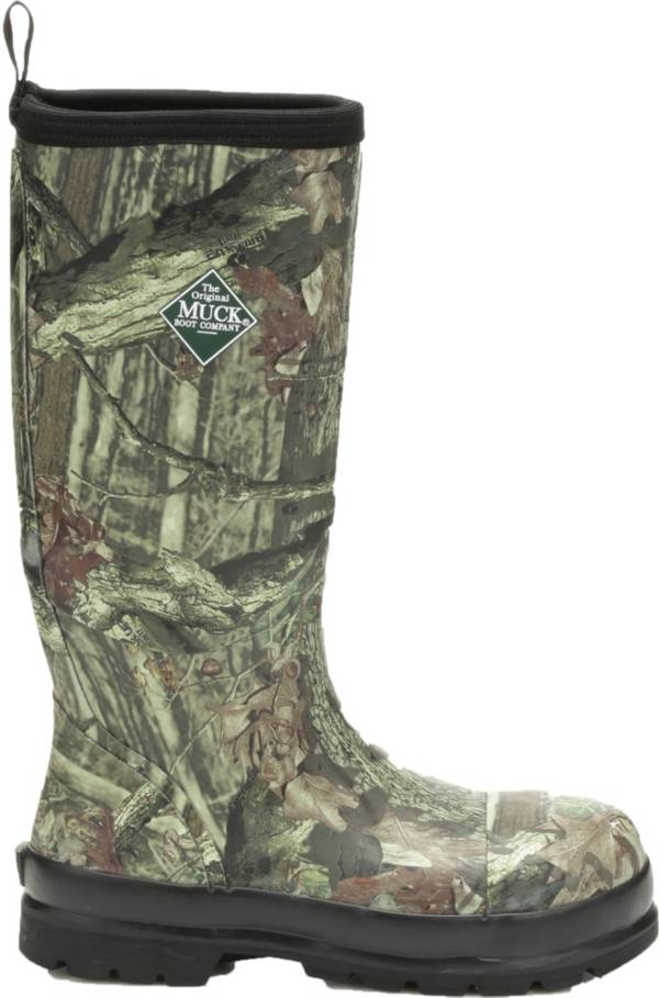 Camo Steel Toe Muck Boots