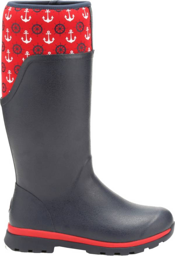 Muck Boots Women's Cambridge Anchors Tall Rain Boots product image
