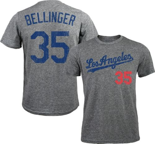 22ffb48e62843 Majestic Threads Men s Los Angeles Dodgers Cody Bellinger  35 Grey  Tri-Blend T-Shirt. noImageFound. Previous
