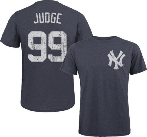 Majestic Threads Men s New York Yankees Aaron Judge Navy T- Shirt ... 0bdd179c861