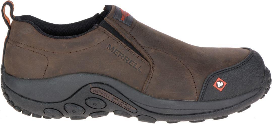 cfbe94c44ec Merrell Men's Jungle Moc Composite Toe Work Shoes