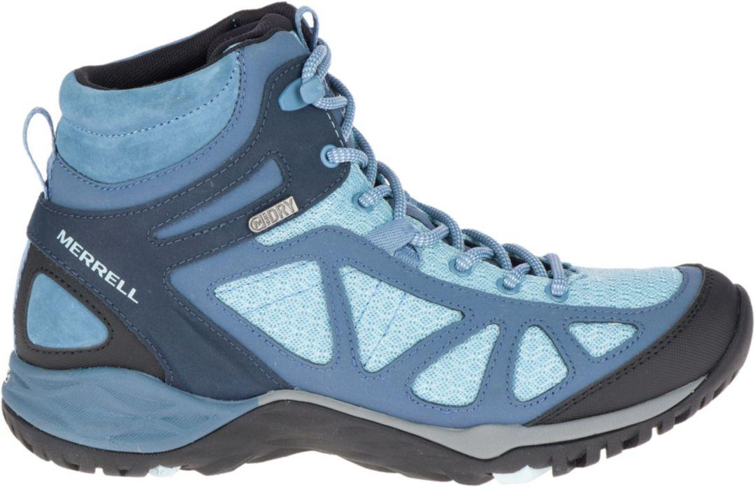 ae2f78d1fad Merrell Women's Siren Sport Q2 Mid Waterproof Hiking Boots