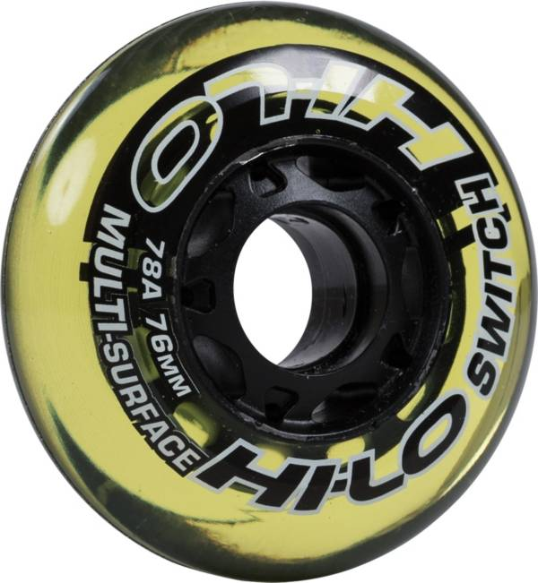 Mission HI-LO Switch Roller Hockey Wheels - 4 Pack product image