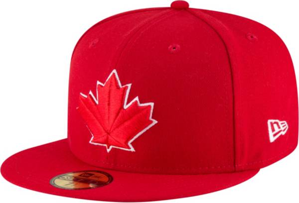 New Era Men's Toronto Blue Jays 59Fifty Alternate Red Authentic Hat product image