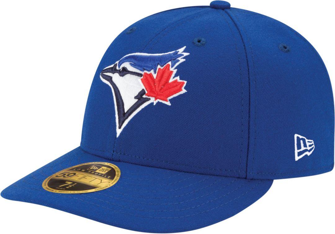 best cheap a7b1c 00076 New Era Men s Toronto Blue Jays 59Fifty Game Royal Low Crown Authentic Hat.  noImageFound. Previous