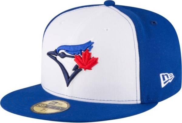 New Era Men's Toronto Blue Jays 59Fifty Alternate White/Royal Authentic Hat product image