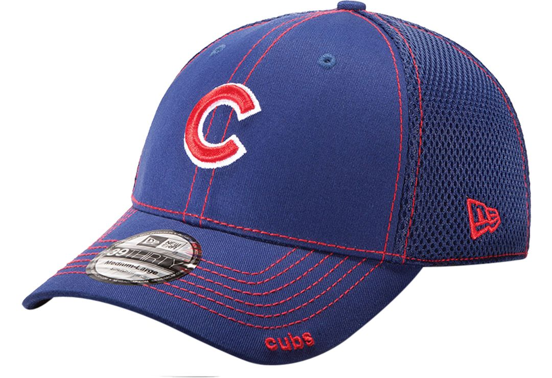 c5a59844 New Era Men's Chicago Cubs 39Thirty Stretch Fit Hat | DICK'S ...