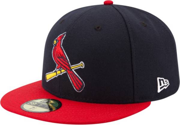 New Era Men's St. Louis Cardinals 59Fifty Alternate 2 Navy Authentic Hat product image
