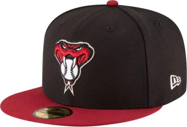 New Era Men's Arizona Diamondbacks 59Fifty Alternate Black Authentic Hat product image