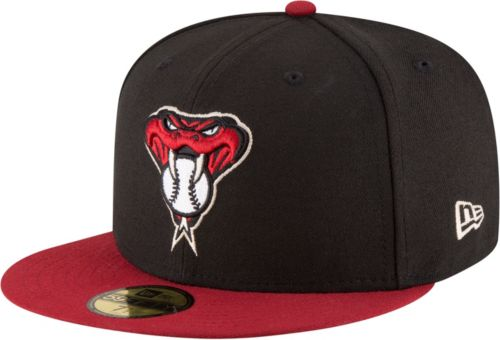 New Era Men s Arizona Diamondbacks 59Fifty Alternate Black Authentic ... 4129837f272