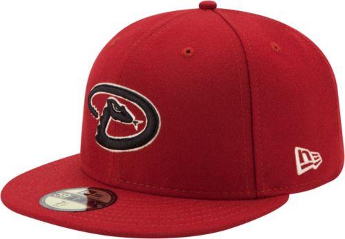 new style a5f78 8705b New Era Men s Arizona Diamondbacks 59Fifty Alternate Red Authentic Hat