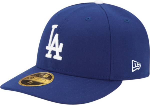 New Era Men's Los Angeles Dodgers 59Fifty Game Royal Low Crown Authentic Hat product image