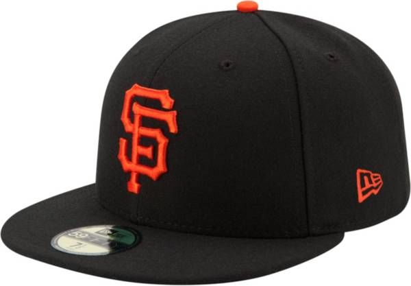 New Era Men's San Francisco Giants 59Fifty Game Black Authentic Hat product image