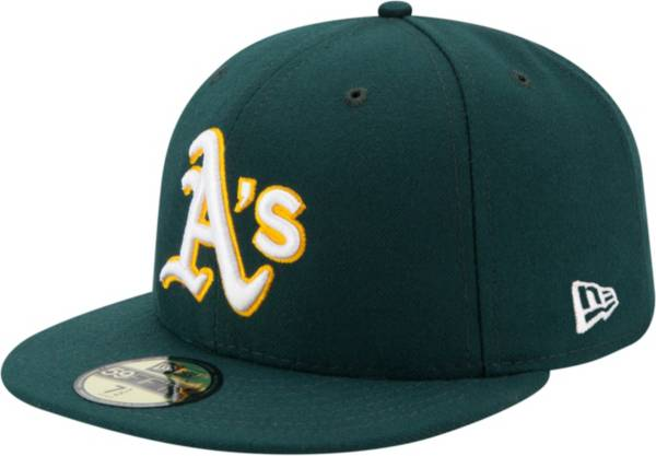 New Era Men's Oakland Athletics 59Fifty Road Green Authentic Hat product image