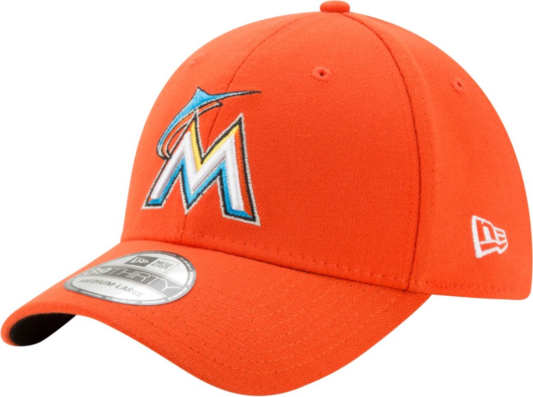pretty nice 45d2e bbd48 New Era Men s Miami Marlins 39Thirty Orange Stretch Fit Hat. noImageFound.  Previous