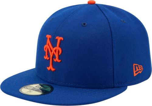 82ada7133f1 New Era Men s New York Mets 59Fifty Game Royal Authentic Hat ...