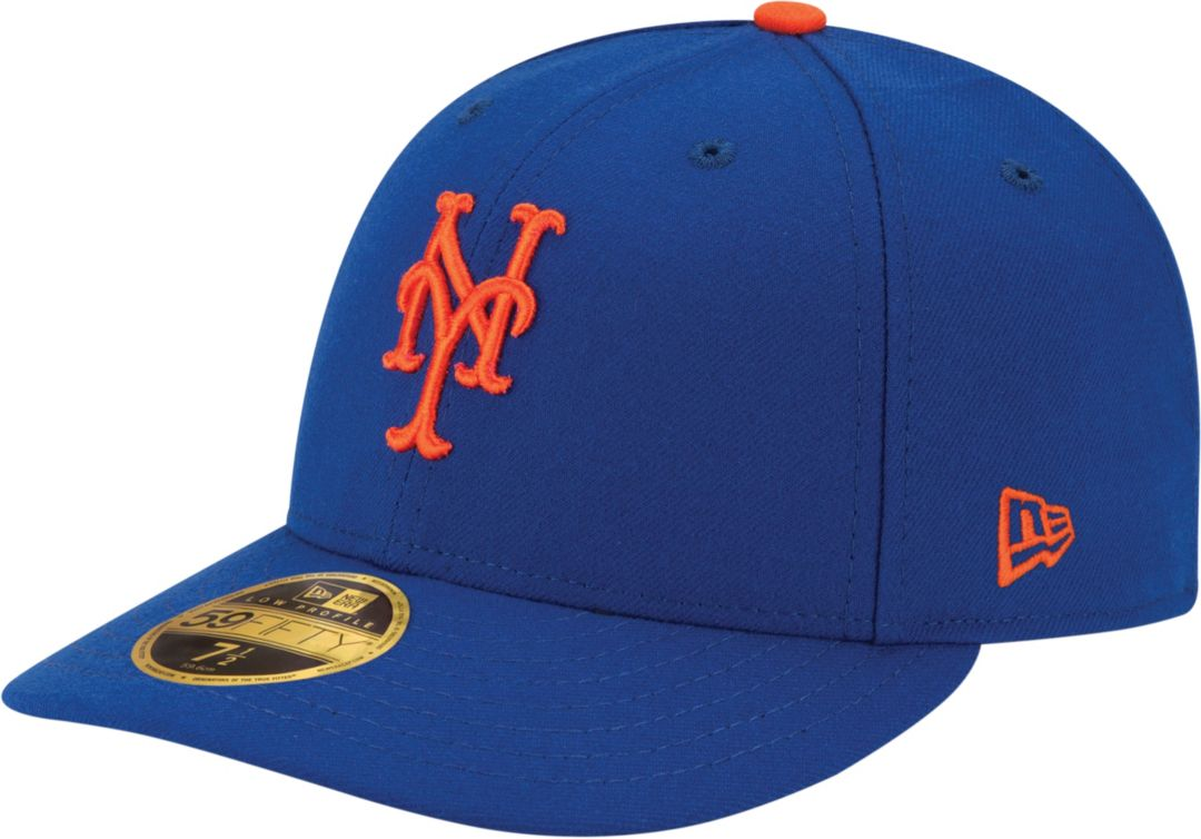 new concept b3cd6 28b6e New Era Men s New York Mets 59Fifty Game Royal Low Crown Authentic Hat.  noImageFound. Previous