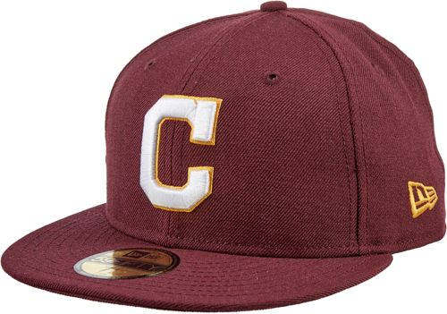 purchase cheap a7b7f db44a New Era Men s Cleveland Indians 59Fifty City Pride Burgundy Fitted Hat.  noImageFound. Previous