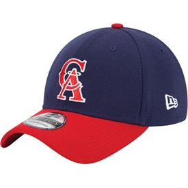 detailed look 26a90 1d641 New Era Men s Los Angeles Angels 39Thirty Classic Navy Stretch Fit Hat