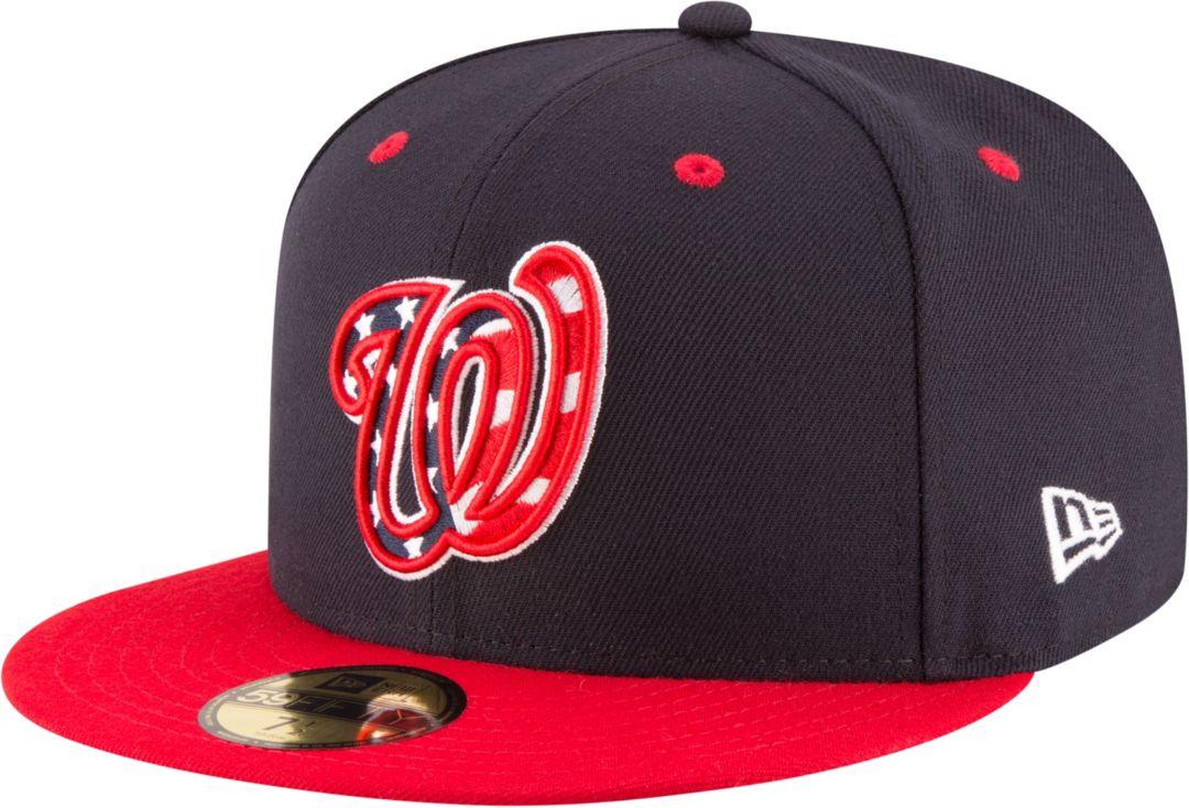 New Era Men's Washington Nationals 59Fifty Alternate Navy Authentic Hat
