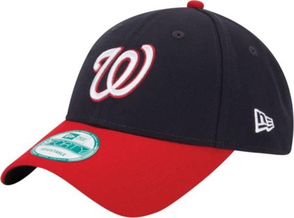 New Era Men's Washington Nationals 9Forty Navy Adjustable Hat product image
