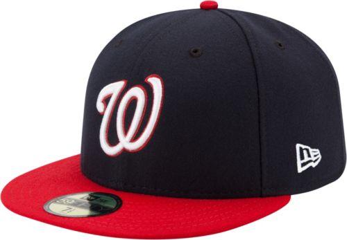 d074647e8 New Era Men's Washington Nationals 59Fifty Alternate Navy Authentic Hat.  noImageFound. Previous