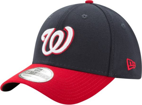 New Era Men's Washington Nationals 39Thirty Classic Navy/Red Stretch Fit Hat product image