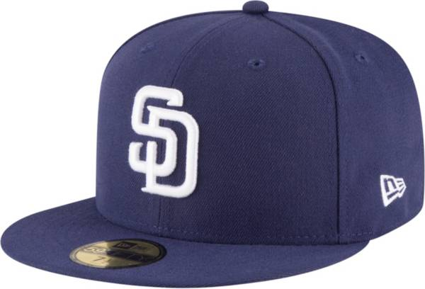 New Era Men's San Diego Padres 59Fifty Home Navy Authentic Hat product image
