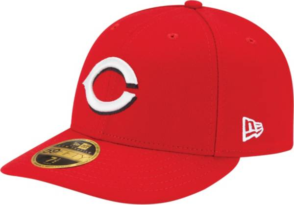 New Era Men's Cincinnati Reds 59Fifty Home Red Low Crown Authentic Hat product image